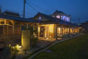 グラデーション夜の芦湯