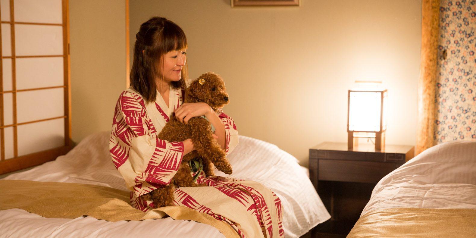 愛犬と過ごす本格旅館 あわら温泉月香