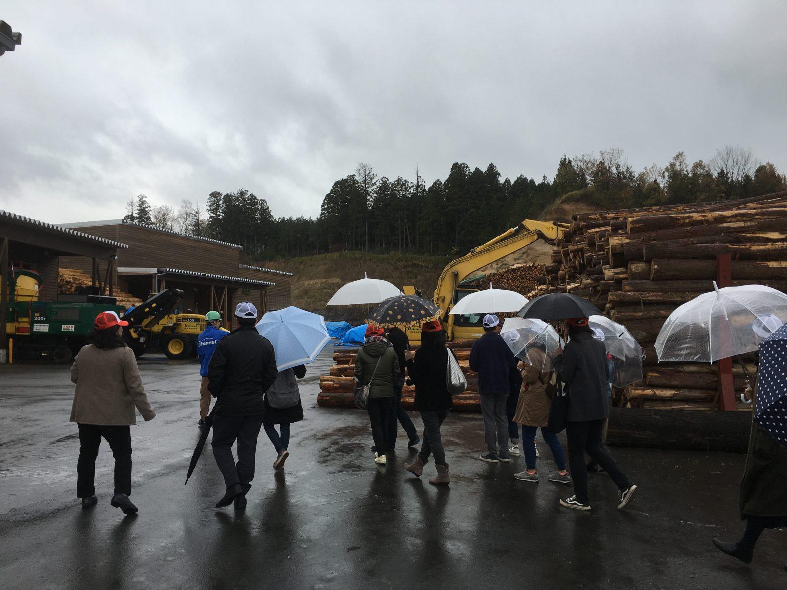 木質バイオマス視察ツアー